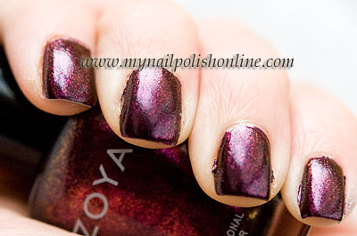 Zoya Valerie on the nails