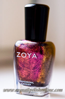 """Zoya Valerie – Purple glitter from the """"Fire & Ice"""" collection"""