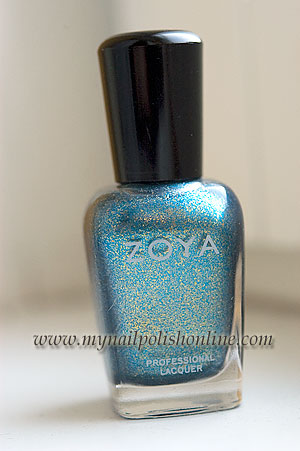 "Zoya Crystal from the 2010 winter collection ""Fire and Ice"""