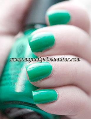 China Glaze Four Leaf Clover on nails