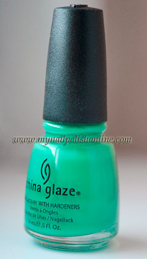 China Glaze Four Leaf Clover - The bottle