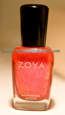 Zoya Lisa - the bottle
