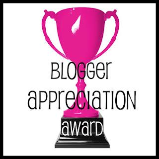Blogger Appreciation Award