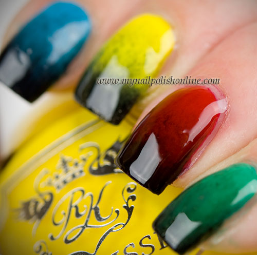 Polish Days - Olympic Nails