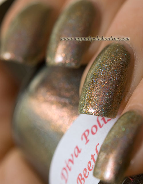 Darling Diva Polish - Space Beetle - shadow