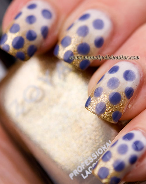 Golden Gradient with Dots
