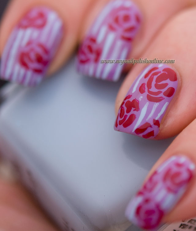 Modern Design Nails Online Frieze - Nail Art Ideas - morihati.com