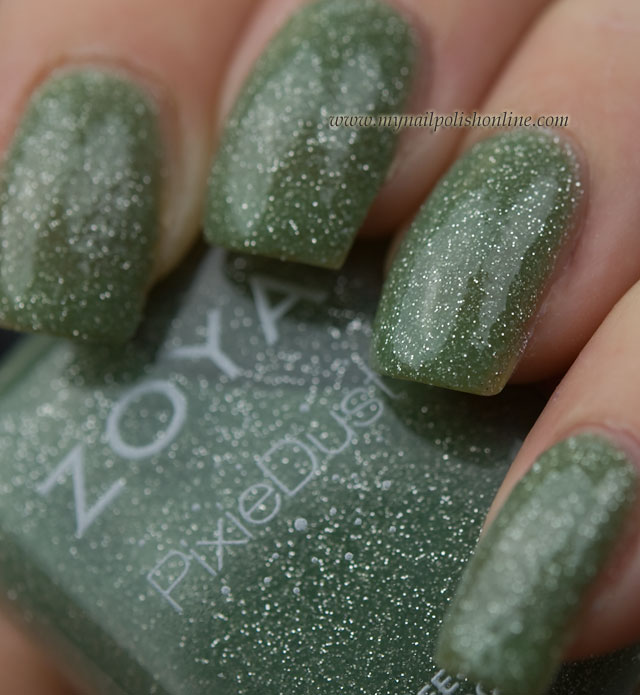 Zoya - Vespa with topcoat
