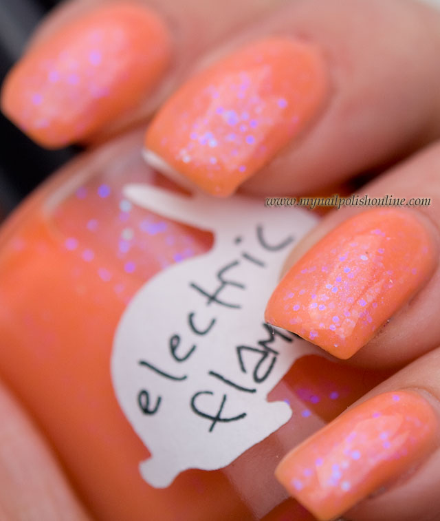 Hare - Electric Flame - My Nail Polish Online