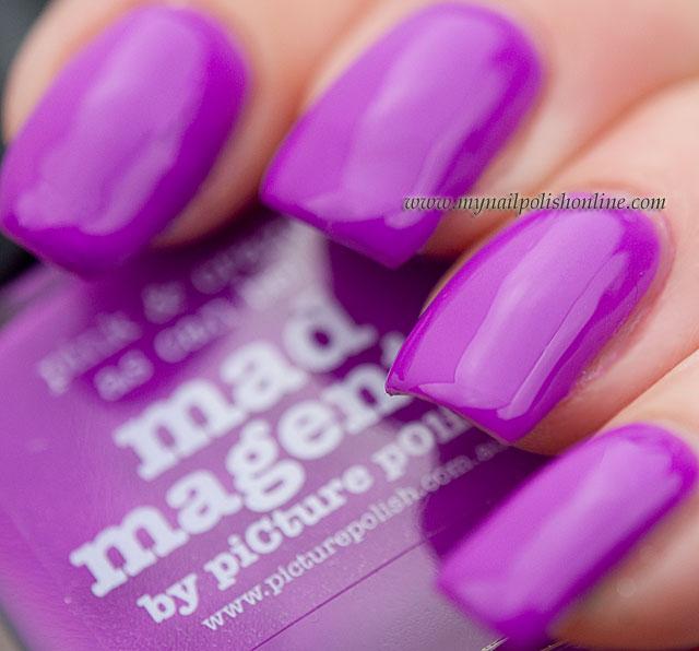 piCture pOlish - Mad Magenta - My Nail Polish Online