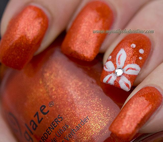 Nail art with china glaze riveting my nail polish online nail art with china glaze riveting prinsesfo Images