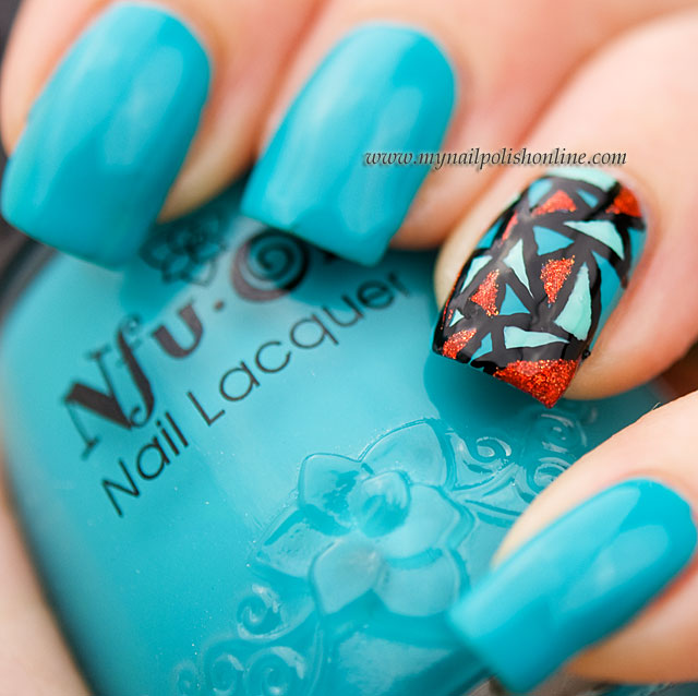 Nail Art Sunday – Stained Glass Manicure