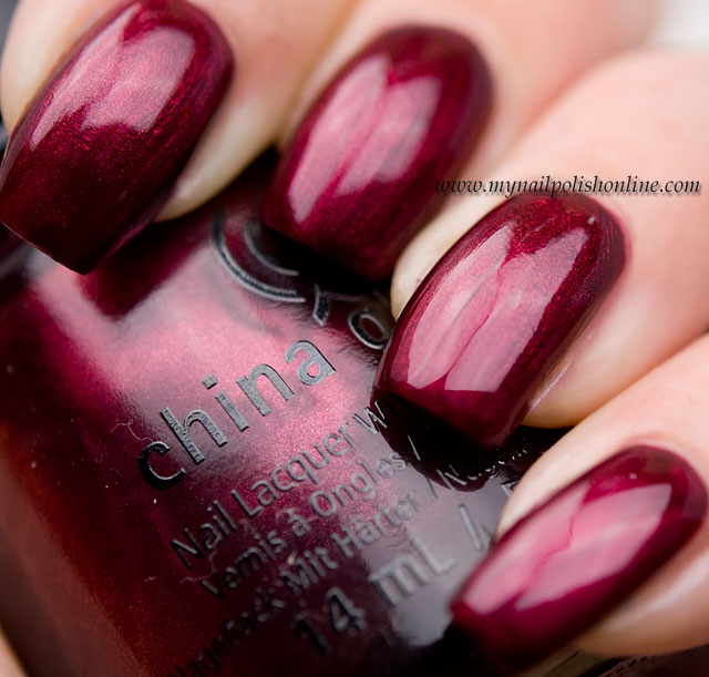 China Glaze - Red-y & Willing swatches