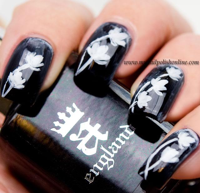 Nail Art Sunday – Black and White   My Nail Polish Online