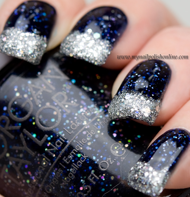 Glittery Funky French