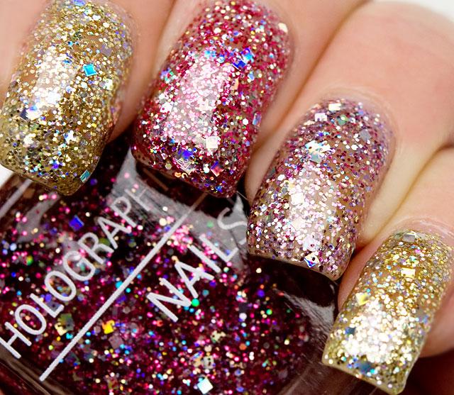 isadora glitter nails
