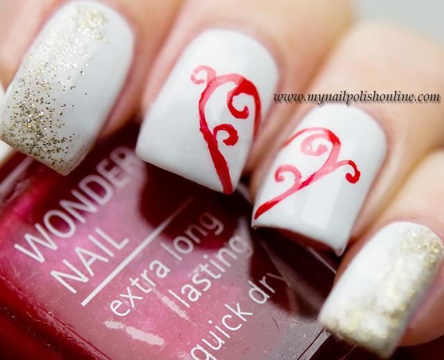 Nail Art - Heart - My Nail Polish Online
