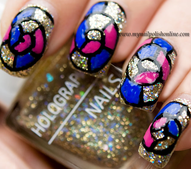Stained Glass Nail Art: My Nail Polish Online
