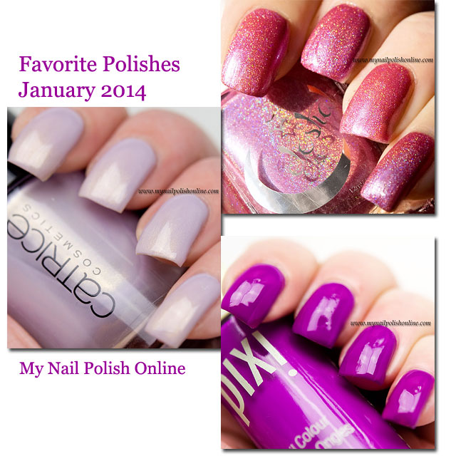 January Roundup - Favorite Nail Arts