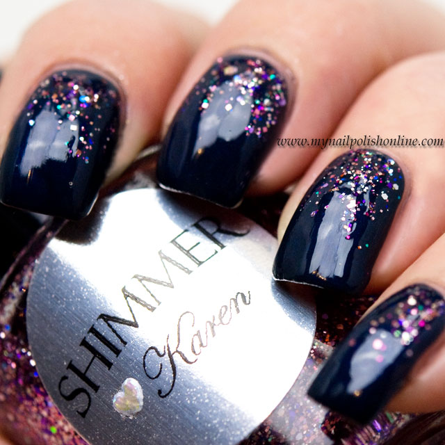 February Nail Art Challenge Simple