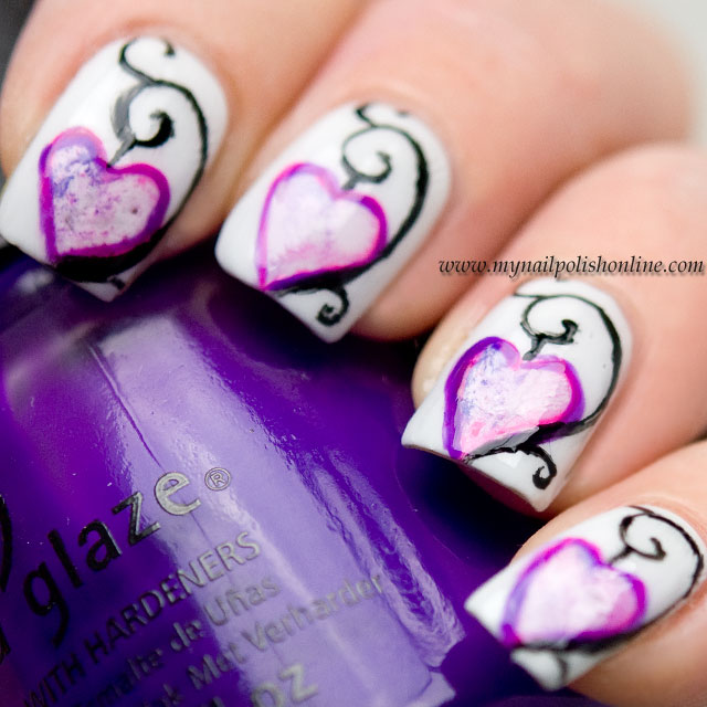 Valentine's Day Nail Art Contest, Nail Art Sunday and