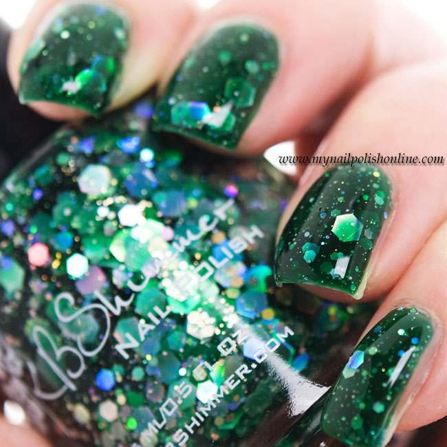 KB Shimmer - Green Hex and Glam