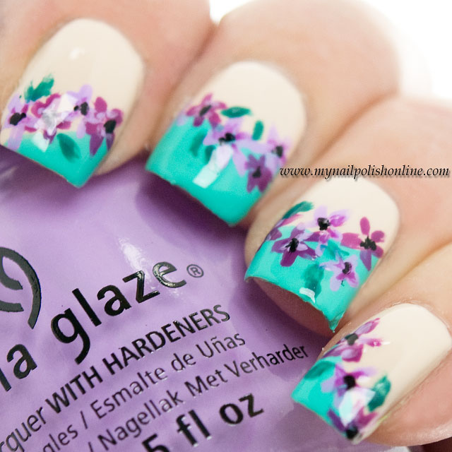 Nail Art – Flowers | My Nail Polish Online | Bloglovin\'