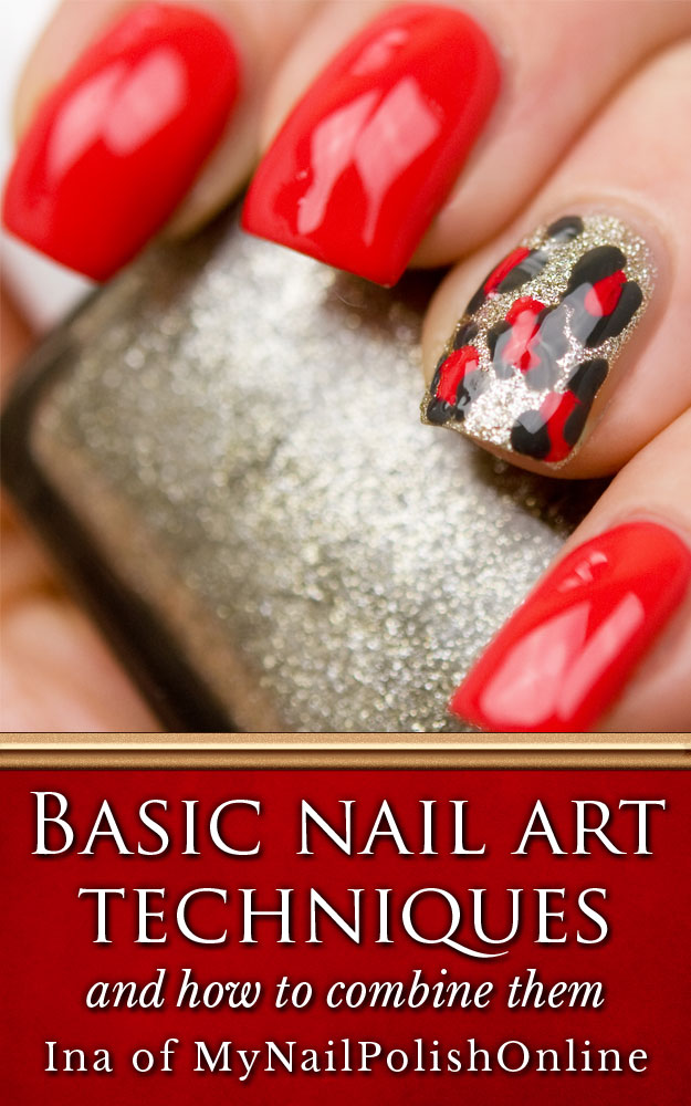Basic Nail Art Techniques and how to combine them