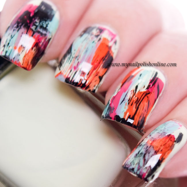 Nail Art - Dry Brush Technique