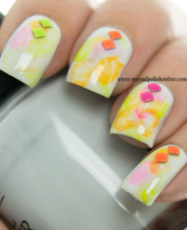 Nail Art Sunday - Neons