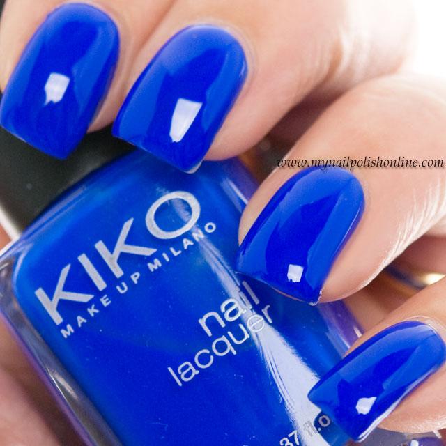 Kiko 336 - Electric Blue - My Nail Polish Online