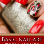Basic nail art techniques and how to combine them!