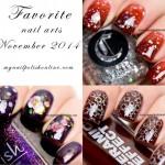 Favorite Nail Arts Nov 2014