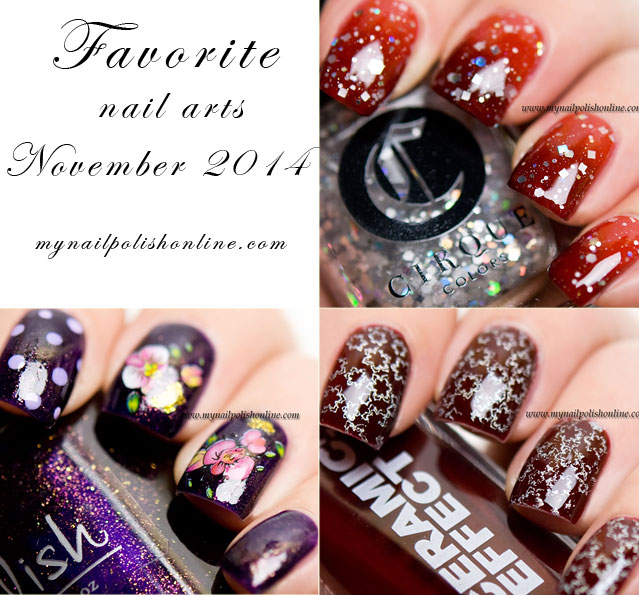 Favorite Nail Arts Nov 2014