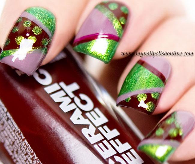 Layla nail art