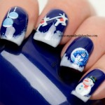 Nail Art Sunday - Winter Decals