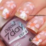 Nail Art - Spring flowers