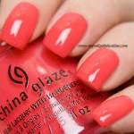 China Glaze - I break for Colour
