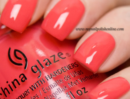 China Glaze – I break for Colour