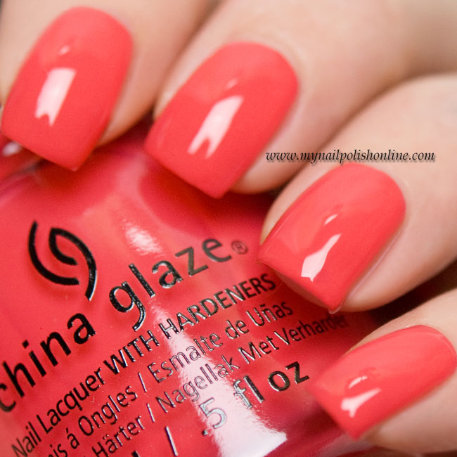 China Glaze - I break for Colour