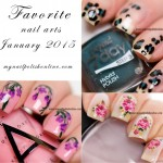 Favorite Nail Arts Jan 2015