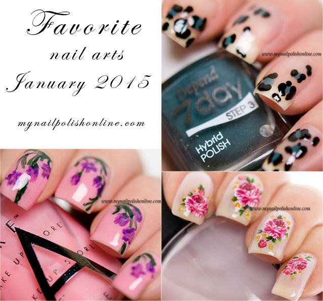 Favorite Nail Arts Jan 2015