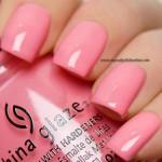 China Glaze - Pinking out the window