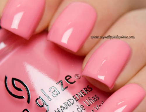 China Glaze – Pinking out the window