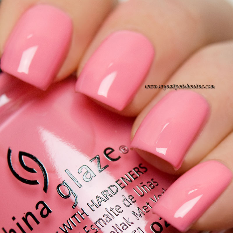 China Glaze - Pinking out the window