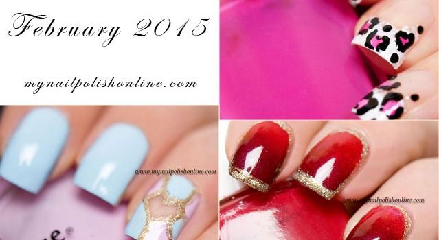 Favorite Nail Art - February 2015