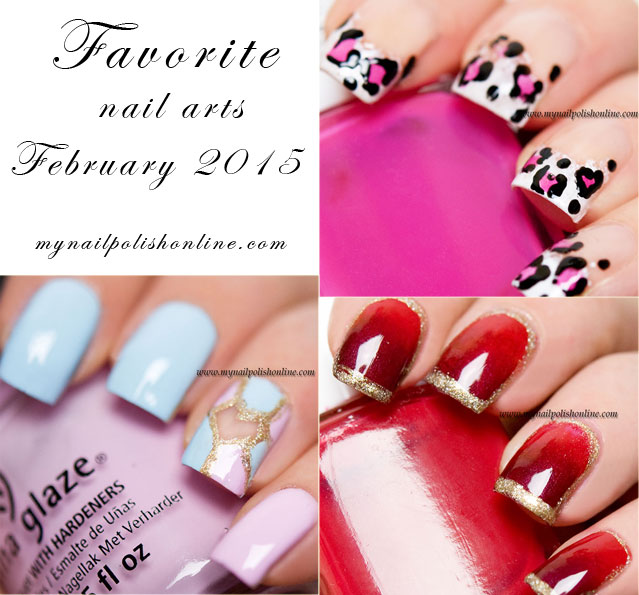Favorite Nail Art - February 2015