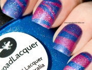 Water marbling with Lilypad Lacquers
