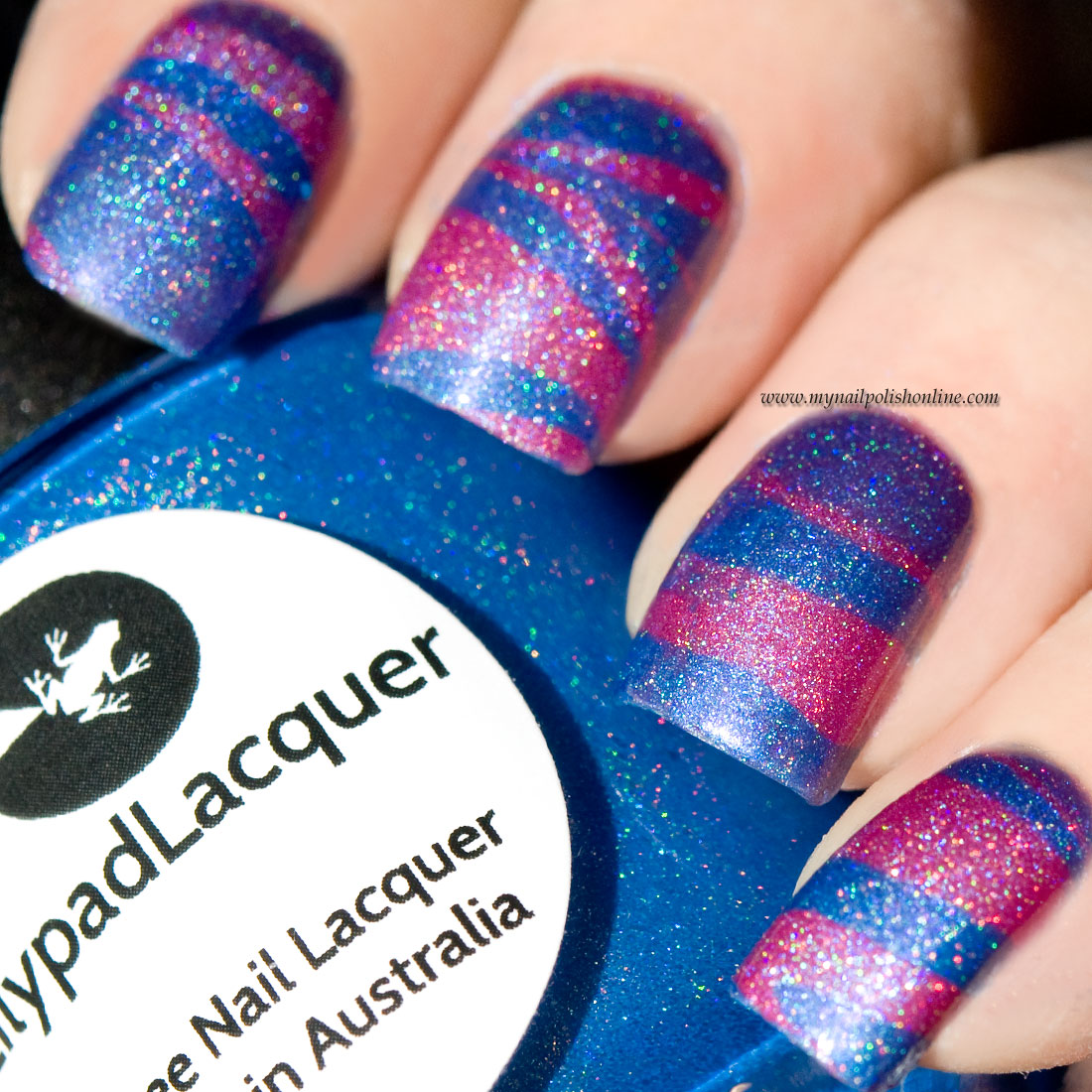 Water Marble Nail Polish Brands India: Water Marbling With Lilypad Lacquers