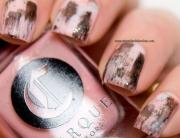 Nail Art - Dry brush strokes